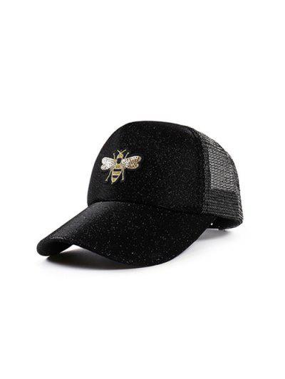 Bee Embroidery Embellish Trucker Hat