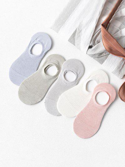 5Pairs Anti slip Invisible Socks Set