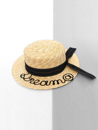 Letter Embellished Hat