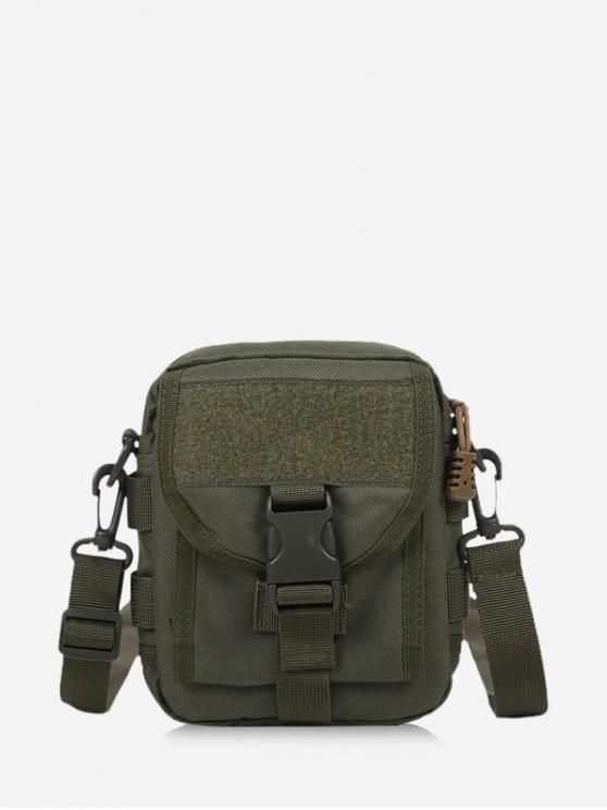 affordable Casual Messenger Crossbody Bag - ARMY GREEN