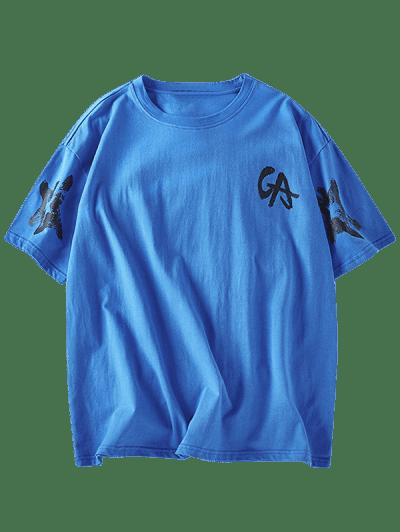 Letter Graphic Basic T-shirt