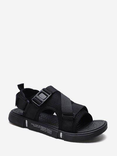 Buckled Strap Casual Shoes