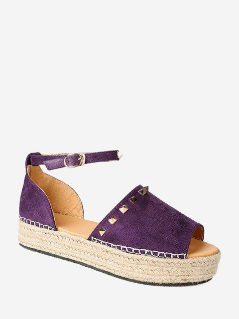 Sapatos Rebites - Íris Roxa UE 41 Mobile