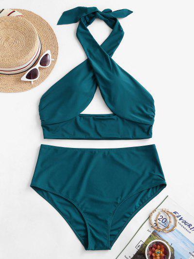 Plus Size Halter Bikini Swimwear