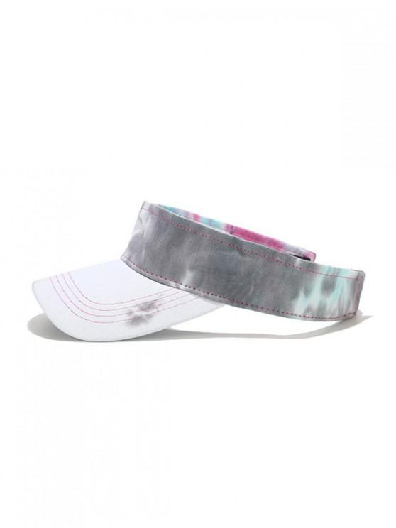 29% OFF] 2020 Tie-dye Sun-proof Visor Cap In GRAY | ZAFUL