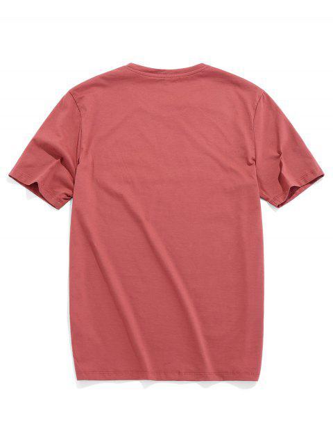 Camiseta Básica con Manga Raglán - Rojo de Valentín M Mobile