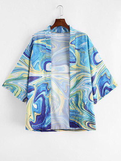Agate Print Kimono Cardigan