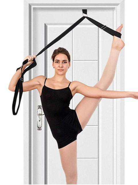 lady Adjustable Yoga Training Resistance Band - BLACK  Mobile