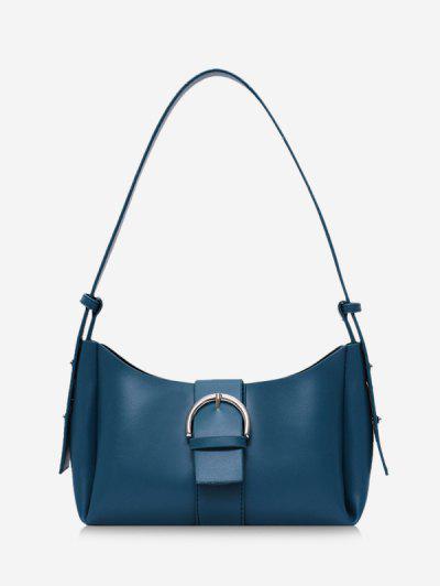 Buckle Strap Crossbody Bag