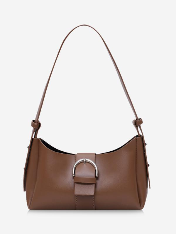 Brief Buckle Strap Crossbody Bag