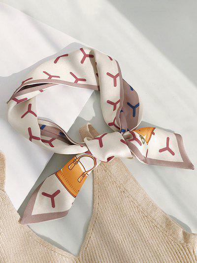 Geometric Bags Pattern Scarf