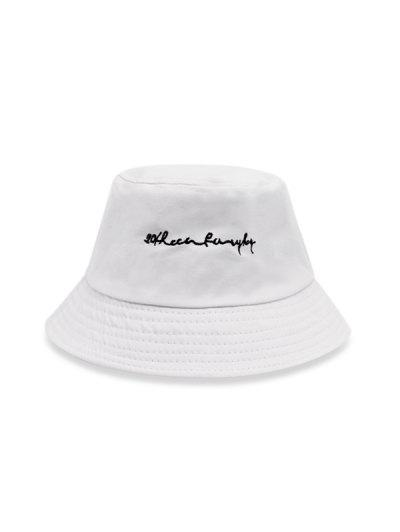 Embroidery Letter Bucket Hat