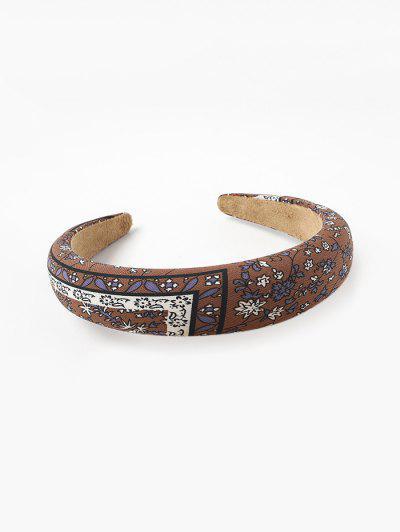 Floral Pattern Cloth Headband