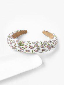 Flower Print Wide Hairband