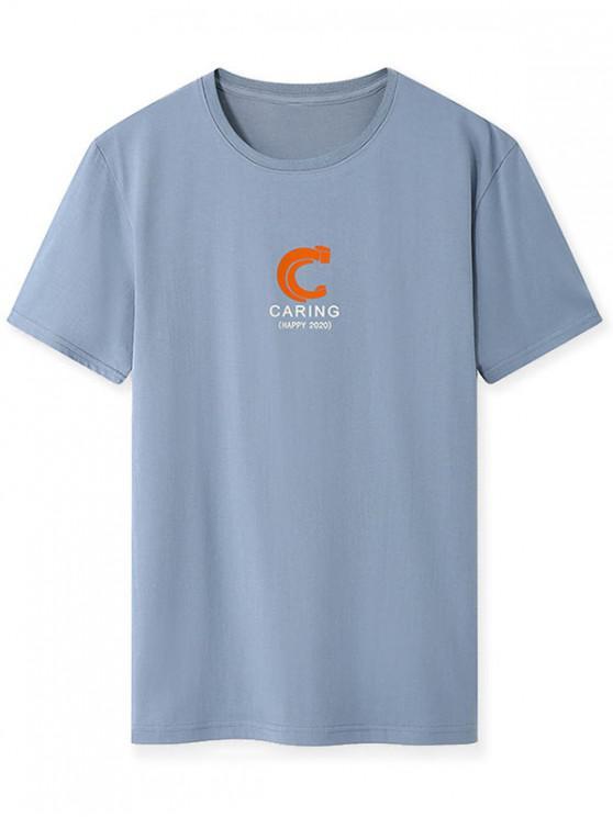T-shirt - Cinza Azulado XS