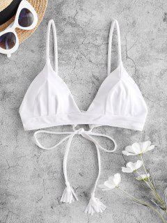 Bikini Con Lacci E Frange Di ZAFUL - Bianca L