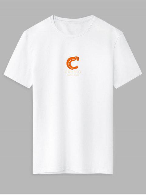 T-shirt - Branco XL Mobile