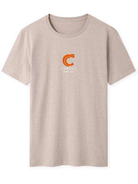 T-shirt - Cor de Caqui M Mobile
