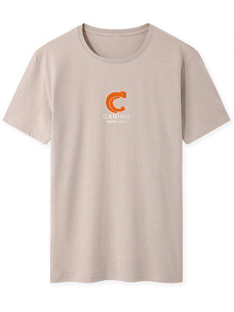 T-shirt - Cor de Caqui XL Mobile