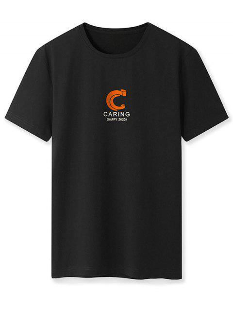 T-shirt - Preto XL Mobile