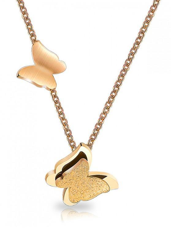Collar de mariposa Forma - Oro