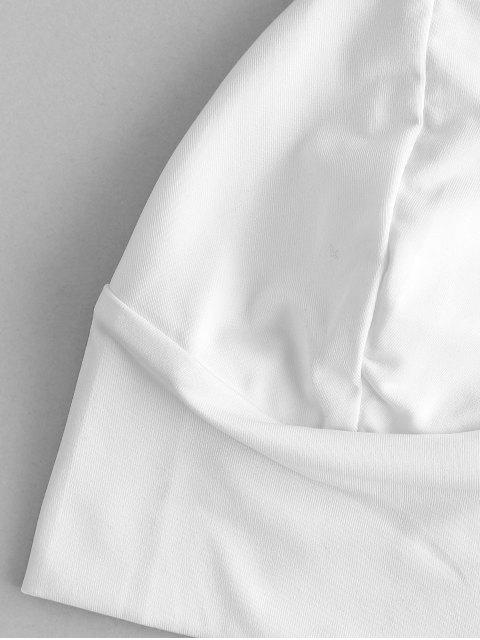 Top Bralette com Alças Finas - Branco M Mobile