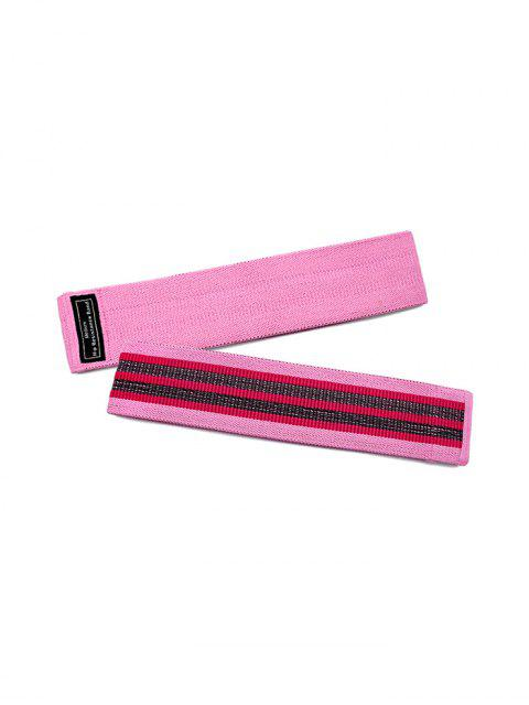 chic Hip Squat Practicing Yoga Elastic Resistance Band - PINK  Mobile
