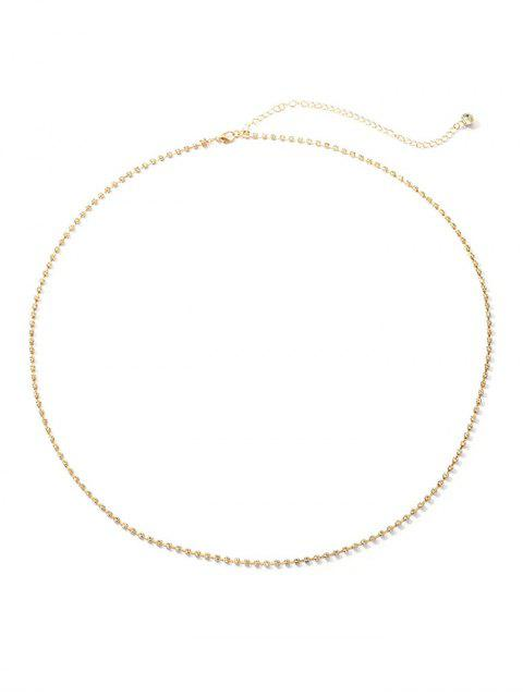 best Full Rhinestone Belly Chain - GOLD  Mobile