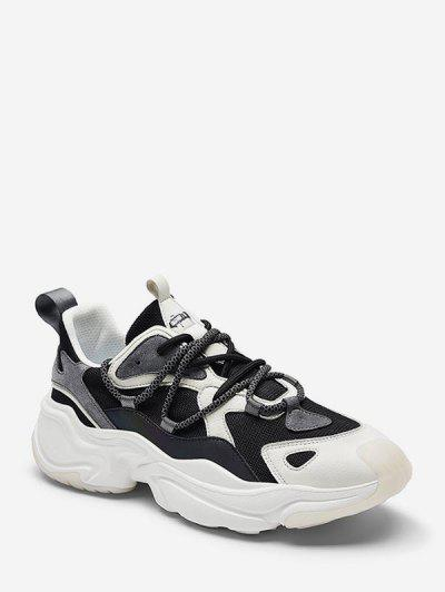 Lace Up Dad Sneakers