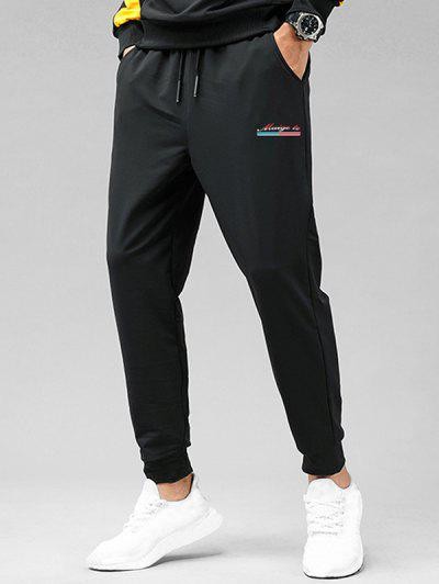 Athleisure Graphic Pants