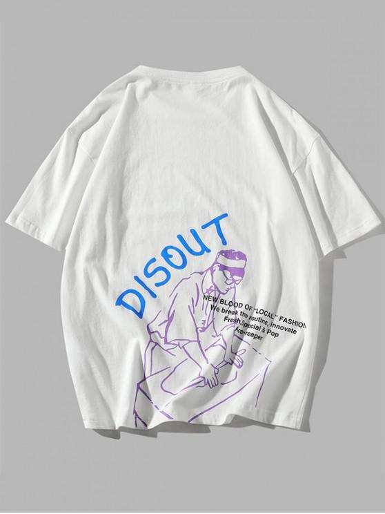 Camiseta Básica - Branco M