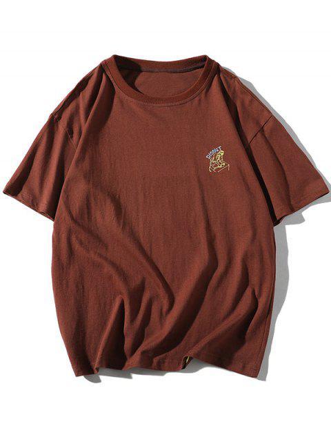 Camiseta Básica - Café 4XL Mobile