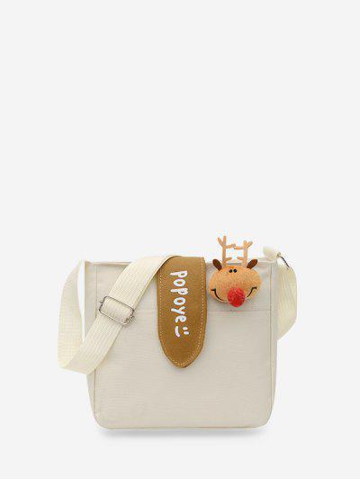 Canvas Small Crossbody Bag