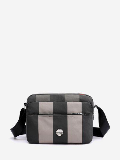 Waterproof Nylon Multi Pockets Crossbody Bag