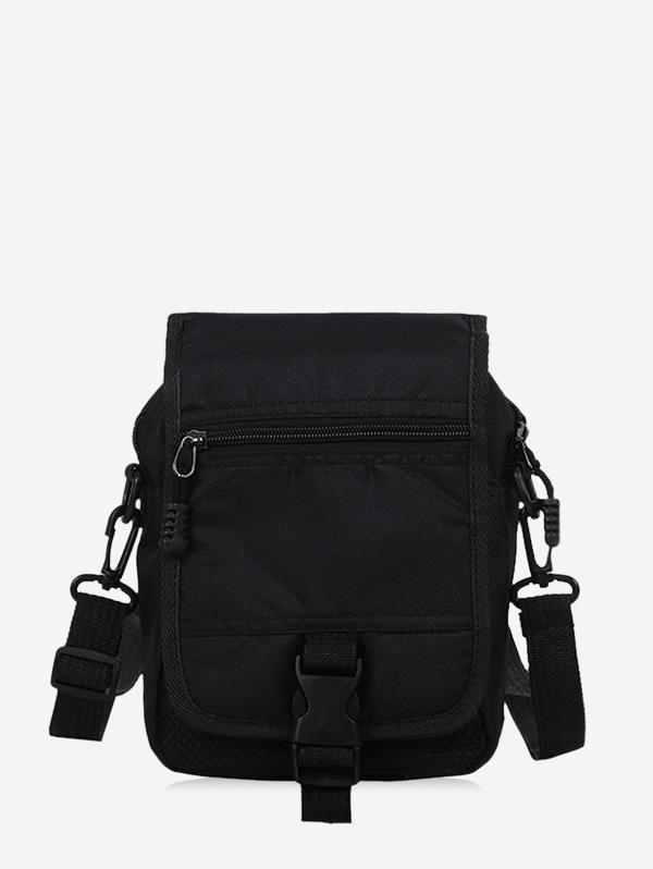 Buckled Flap Casual Small Crossbody Bag