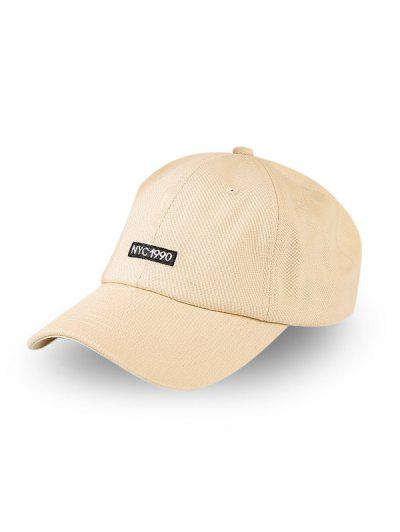 Embroidery Letters Baseball Cap