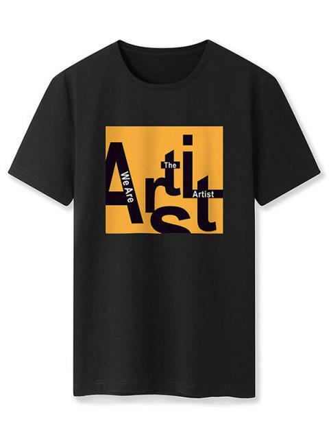 Camiseta Básico - Preto M Mobile
