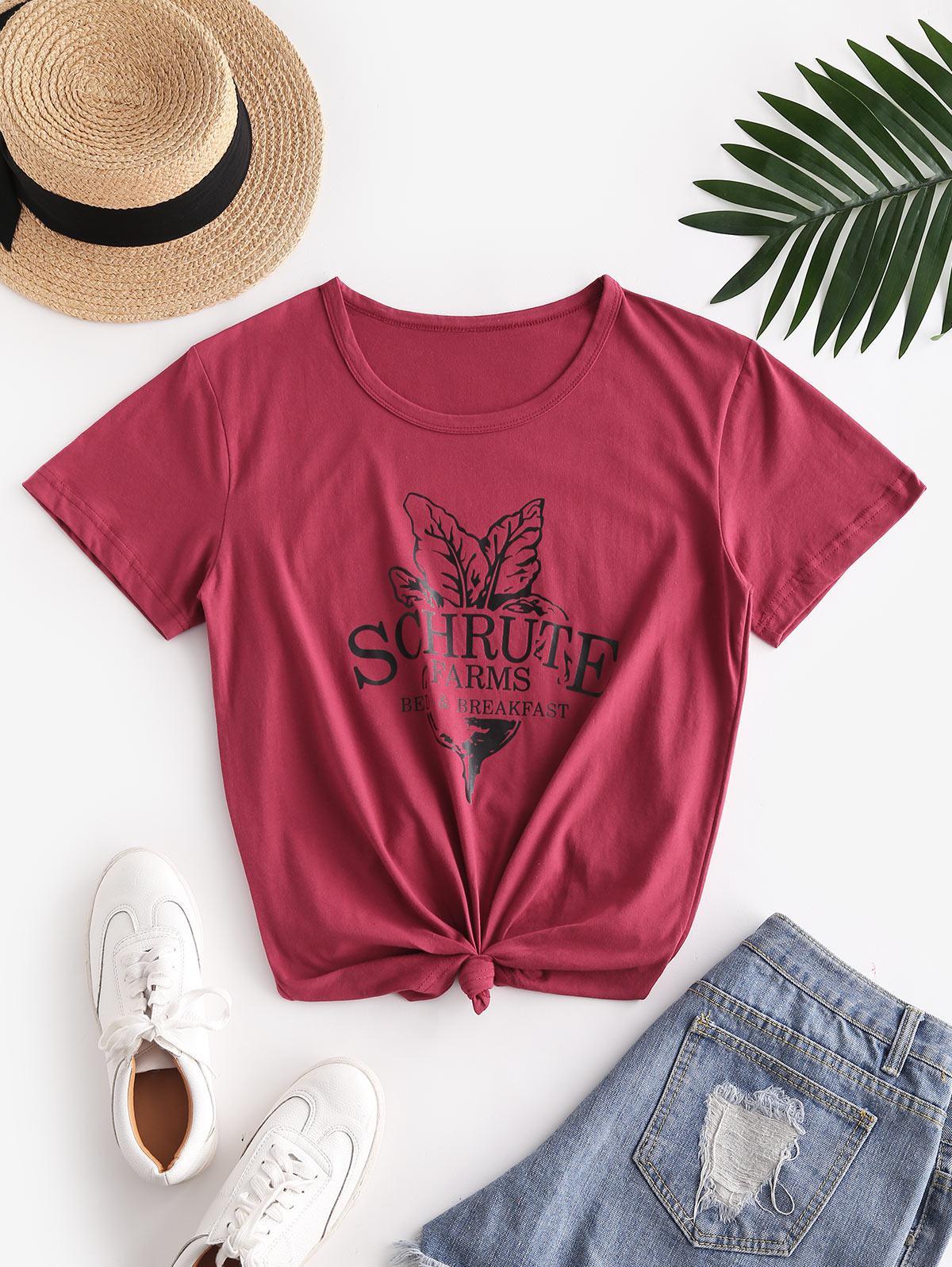 Schrute Farms Graphic Short Sleeve T-shirt thumbnail