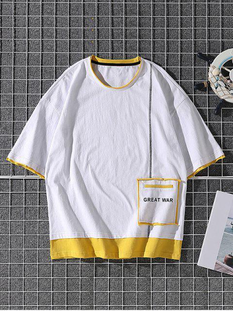 T-shirt Especial de Emagrecimento - Branco XS Mobile