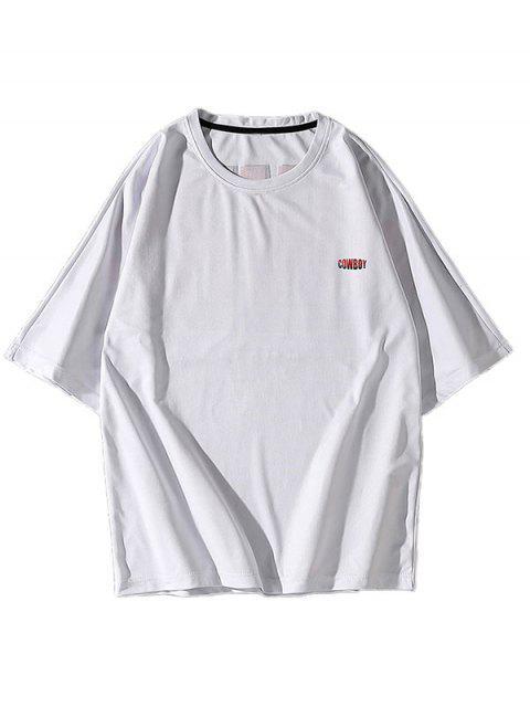 T-shirt Especial de Emagrecimento para Homens - Branco 3XL Mobile