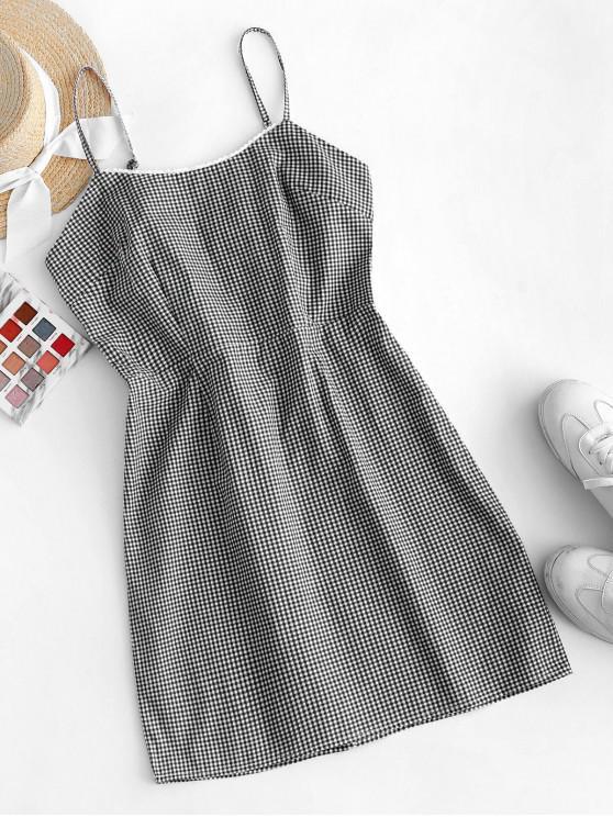 Vestido Justo Sem Mangas - Preto M