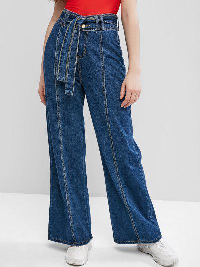 Jeans Cintura Alta y Cinto