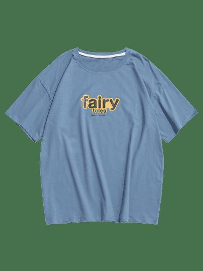Fairy Tales Print Basic T-shirt