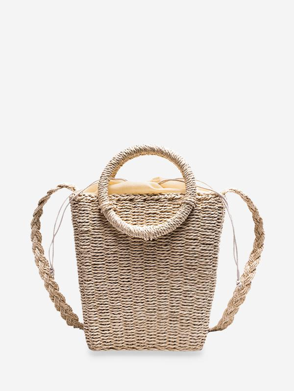 Beach Retro Knitted Crossbody Bag