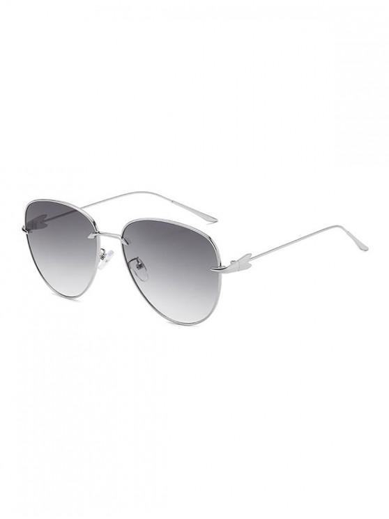 outfit Gradient Arrows Pilot Sunglasses - GRAY