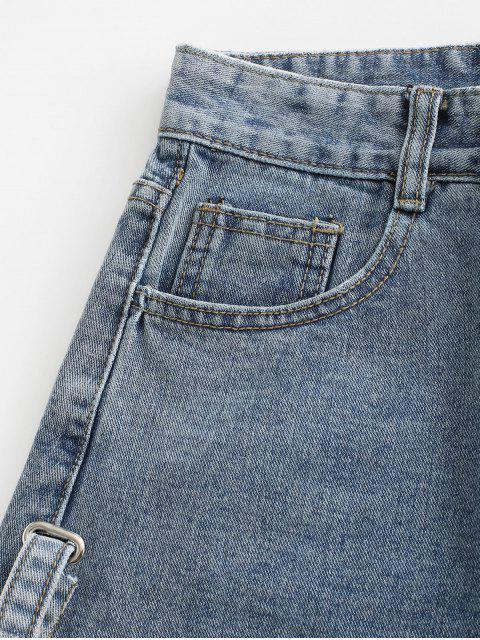 Short Déchiré à Rebords en Jean - Bleu de Jean M Mobile