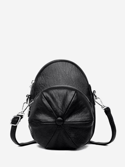 Cap Shape Crossbody Bag