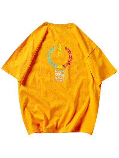 Music Instrument Graphic Basic T Shirt - Bee Yellow S