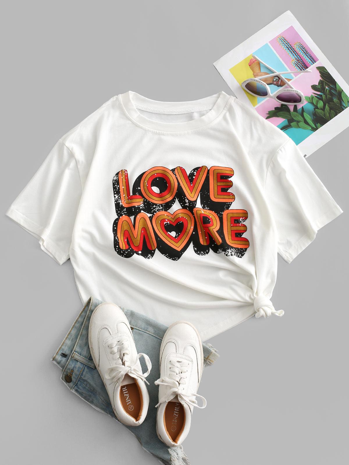 Oversize More Graphic Tee