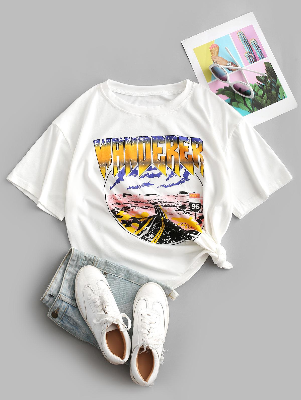 Oversize Wanderer Graphic Tee thumbnail